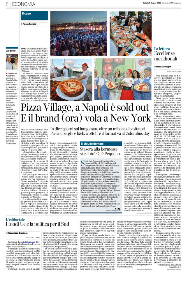 pizza village a napoli è sold out